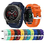 billiga Smart klocka Tillbehör-Klockarmband för Fenix 5x Garmin Sportband Silikon Handledsrem