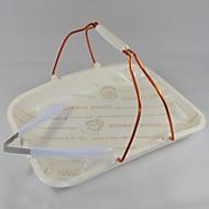 baratos Utensílios de Decoração-Ferramentas bakeware Plástico Heatproof Uso Diário / Para utensílios de cozinha Bandeja 1pç
