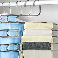 Paslanmaz Çelik Çok-fonksiyonlu Giyim Askı, 2pcs