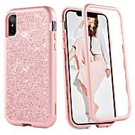 billiga Mobil cases & Skärmskydd-BENTOBEN fodral Till Apple iPhone XR / iPhone XS Max Stötsäker Fodral Enfärgad / Glittrig Hårt TPU / PC för iPhone XS / iPhone XR / iPhone XS Max