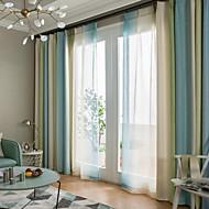 billige Gardiner ogdraperinger-gardiner gardiner Spisestue Moderne 100% Polyester Trykket / Blackout