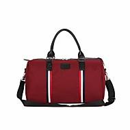 billige Rejsetasker-Lærred Helfarve Rejsetaske Solid Helfarve Grøn / Sort / Rød