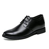 baratos Sapatos Masculinos-Homens Sapatos formais Couro Sintético Outono Casual Oxfords Preto / Casamento / Festas & Noite