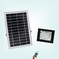 baratos Focos-1pç 20 W Focos de LED Impermeável / Controlado remotamente / Solar Branco Frio 3.7 V Iluminação Externa / Pátio / Jardim 56 Contas LED