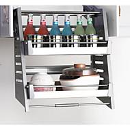 billiga Kök och matlagning-Kök Organisation Ställ & Hållare Metall Lätt att använda 1st