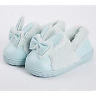 baratos Sapatos de Menina-Para Meninas Sapatos Camurça Inverno Conforto Chinelos e flip-flops Laço para Infantil / Bébé Rosa claro / Verde Claro