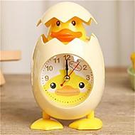 billiga Väckarklockor-Väckarklocka Ramtyp Plastik Quartz 1 pcs