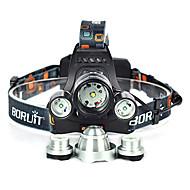 ieftine -10000 lm Frontale / Becul farurilor Cree XM-L T6 1 Mod Anglehead / Potrivite Pentru Autovehicule / Foarte luminos