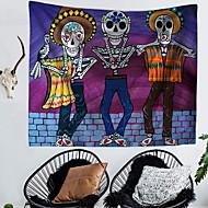tanie Dekoracje ścienne-Prostokąt Dekoracja ścienna Poliester Nowoczesny Wall Art, Ścienne Gobeliny Dekoracja