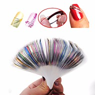 30 pcs Multi Function / Najbolja kvaliteta Eko-friendly materijal Naljepnica s trakom za nokte Za Kreativan nail art Manikura Pedikura Dnevno / Festival Stilski