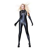 Mulheres Super Sexy Corpete Roupa de Noite - Franzido Sólido