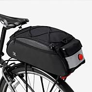 Χαμηλού Κόστους Διπλές τσάντες σέλας ποδηλάτου-ROSWHEEL 10 L Τσάντα αποσκευών για ποδήλατο / Διπλή τσάντα σέλας ποδηλάτου Αδιάβροχη, Αδιάβροχο, Πολυλειτουργικό Τσάντα ποδηλάτου 600D Ripstop Τσάντα ποδηλάτου Τσάντα ποδηλασίας Ποδηλασία