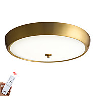 billige Taklamper-ZHISHU Takplafond Nedlys Messing Metall Glass LED 110-120V / 220-240V Varm hvit + hvit