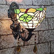 billige Vegglamper-Kreativ / Smuk Tiffany / Retro / vintage Vegglamper / Baderomsbelysning Soverom / Innendørs Harpiks Vegglampe 110-120V / 220-240V 25 W