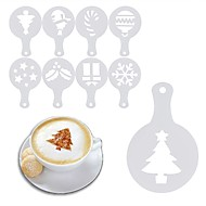 billiga Kök och matlagning-Plast Moka / Cappuccino / naken LOVE / Träd 8pcs Kaffefilter