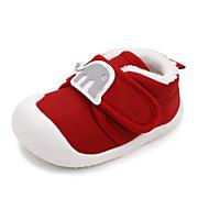 baratos Sapatos de Menino-Para Meninos / Para Meninas Sapatos Algodão Inverno Primeiros Passos Tênis Velcro para Bebê Rosa claro / Azul Claro / Vinho