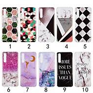 billiga Mobil cases & Skärmskydd-fodral Till Huawei P20 Pro / P20 lite IMD Skal Marmor Mjukt TPU för Huawei Nova 3i / Huawei P20 / Huawei P20 Pro