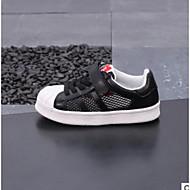 baratos Sapatos de Menino-Para Meninos / Para Meninas Sapatos Couro Sintético / Com Transparência Primavera Conforto Tênis para Infantil / Bébé Branco / Preto