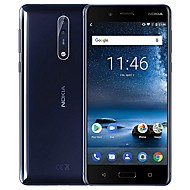 "NOKIA 8 Global Version 5.3 inch "" 4G smartphone (6GB + 128GB Lommelygte / 13 mp Qualcomm Snapdragon 835 3090 mAh mAh) / 2560x1440"