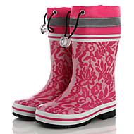 baratos Sapatos de Menina-Para Meninos / Para Meninas Sapatos Borracha Primavera & Outono Botas de Chuva Botas para Infantil Roxo / Pêssego