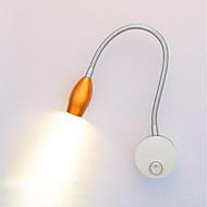 baratos Arandelas de Parede-Proteção para os Olhos LED / Moderno / Contemporâneo Luminárias de parede Sala de Estar / Escritório Metal Luz de parede IP44 110-120V / 220-240V 3 W