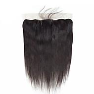 Brasilianisches Haar / Burmesischen Haar 4x13 Closure Glatt Kostenlose Part / Mittelteil / 3 Teil Koreanische Spitze Echthaar Damen / Beste Qualität / Schlussverkauf Freizeitskleidung