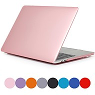 etui na macbook dla air pro retina 11 12 13 15 pokrycie na laptopa jednolity kolorowy przezroczysty matowy pokrowiec z pcv na macbook nowy pro 13,3 15 cali z dotykowym paskiem