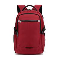billige Computertasker-Oxfordtøj Laptoptaske Lynlås Sort / Rød / Himmelblå