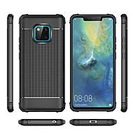 billiga Mobil cases & Skärmskydd-fodral Till Huawei Huawei Mate 20 Lite / Huawei Mate 20 Pro Stötsäker Skal Enfärgad Mjukt TPU för Huawei Nova 3i / Huawei P Smart Plus / Huawei Honor 8X