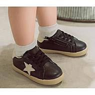 baratos Sapatos de Menino-Para Meninos / Para Meninas Sapatos Couro Ecológico Inverno Conforto / Primeiros Passos Tênis para Bebê Preto / Rosa e Branco / Branco / Preto