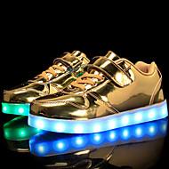 Αγορίστικα / Κοριτσίστικα Παπούτσια PU Φθινόπωρο Ανατομικό / Φωτιζόμενα παπούτσια Αθλητικά Παπούτσια Κορδόνια / Γάντζος & Θηλιά / LED για Παιδιά / Εφηβικό Χρυσό / Ασημί / Ροζ