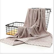 Χαμηλού Κόστους Πετσέτα μπάνιου-Ανώτερη ποιότητα Πετσέτα μπάνιου, Πουά Πολυ / Βαμβάκι Μπάνιο 1 pcs