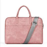 billige Computertasker-polyester Laptoptaske Lynlås Rød / Grå / Lys pink