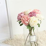 billige Kunstig Blomst-Kunstige blomster 1 Afdeling Klassisk Bryllup / Brudebuketter Kamelia Bordblomst