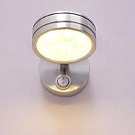 baratos Arandelas de Parede-Estilo Mini LED / Moderno / Contemporâneo Luminárias de parede Quarto / Quarto de Estudo / Escritório Metal Luz de parede 110-120V / 220-240V 5 W