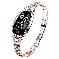 KUPENG H8 Intelligente Bracciale Android iOS Bluetooth Smart Sportivo Impermeabile Monitoraggio frequenza cardiaca Pedometro Avviso di chiamata Monitoraggio del sonno Promemoria sedentario Trova il