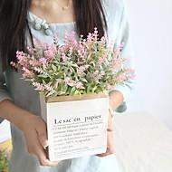 billige Kunstig Blomst-Kunstige blomster 1 Afdeling Klassisk / Enkel Stilfuld / Brudebuketter Planter / Lyseblå Bordblomst