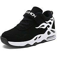 cheap -Boys' Synthetics Athletic Shoes Toddler(9m-4ys) / Little Kids(4-7ys) / Big Kids(7years +) Comfort Basketball Shoes Lace-up Black / White / Black / Red / Black / Blue Spring &  Fall