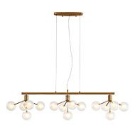 billige Takbelysning og vifter-ZHISHU Sputnik Lysekroner Omgivelseslys galvanisert Metall Glass LED, Nytt Design 110-120V / 220-240V Varm Hvit / Hvit