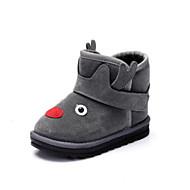 baratos Sapatos de Menino-Para Meninos / Para Meninas Sapatos Sintéticos Inverno Botas de Neve / Forro de peles Botas Velcro para Infantil / Adolescente Amarelo / Marron / Vermelho / Botas Curtas / Ankle