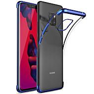 billiga Mobil cases & Skärmskydd-fodral Till Huawei Huawei Mate 20 Pro / Huawei Mate 20 Plätering / Genomskinlig Skal Enfärgad Mjukt TPU för Mate 10 / Mate 10 pro / Mate 10 lite