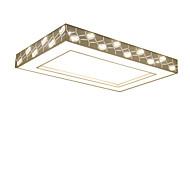 billige Taklamper-Flush Mount Lighting Omgivelseslys galvanisert Metall Akryl Krystall, Anti-refleksjon, Kreativ 110-120V / 220-240V Varm Hvit / Kald Hvit