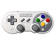 8bitdo f30 pro bluetooth contrôleur manette de jeu joystick soutien ios android pc mac linux
