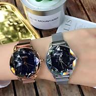 billige Quartz-Dame Kjoleur Armbåndsur Quartz Sort / Sølv / Brun Nyt Design Imiteret Diamant Analog Damer Afslappet Elegant - Lilla Kaffe Blå