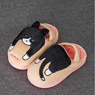 baratos Sapatos de Menina-Para Meninos / Para Meninas Sapatos Algodão Inverno Conforto / Forro de peles Chinelos e flip-flops para Infantil / Bébé Azul / Rosa claro / Khaki