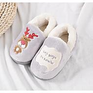 baratos Sapatos de Menino-Para Meninos / Para Meninas Sapatos Algodão Inverno Conforto / Forro de peles Chinelos e flip-flops para Infantil Roxo / Azul / Rosa claro