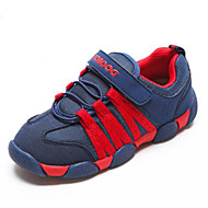 baratos Sapatos de Menina-Para Meninos / Para Meninas Sapatos Com Transparência Primavera Verão / Outono & inverno Conforto Tênis Velcro para Infantil Azul Escuro / Roxo / Azul Real / Estampa Colorida