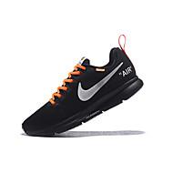 Erkek Ayakkabı Elastik Kumaş İlkbahar & Kış Atletik Ayakkabılar Atletik için Siyah / Sarı / Nefes Alabilir / Darbe emici