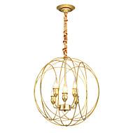 billige Takbelysning og vifter-ZHISHU 6-Light Sirkelformet Anheng Lys Opplys Malte Finishes Metall Nytt Design 110-120V / 220-240V