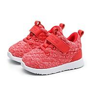 baratos Sapatos de Menino-Para Meninos / Para Meninas Sapatos Tecido elástico Primavera & Outono Conforto Tênis Corrida para Infantil / Bébé Preto / Azul Escuro / Vermelho